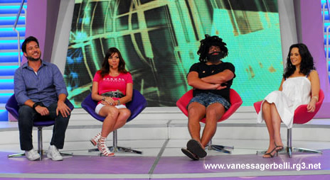 Vanessa Gerbelli no Melhor do Brasil dia 02/01/10