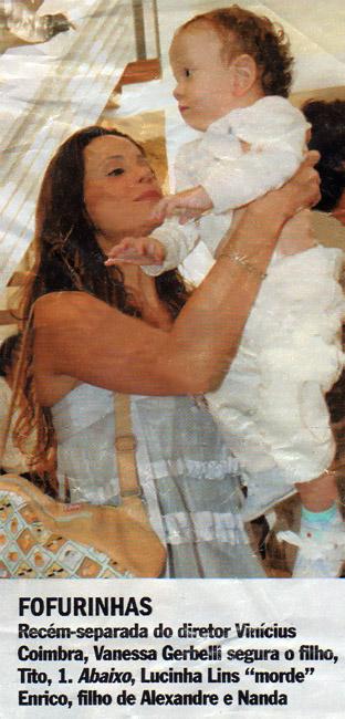 Vanessa e Tito no Casamento do Diretor Alexandre Avancini
